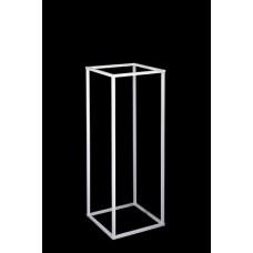 Table Pedestal Frame - 80cm - WHITE - HIRE