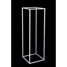 Table Pedestal Frame - 100cm - WHITE - HIRE