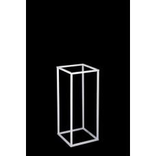 Table Pedestal Frame - 60cm - WHITE - HIRE