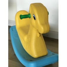 Kids Rocking Toy - Horse yellow