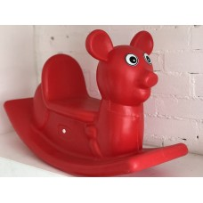 Kids Rocking Toy - Mouse red
