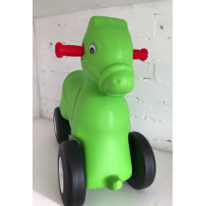 Kids Ride-on Toy - Green horse