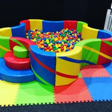 XLARGE soft flower ball pit