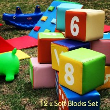 Soft Blocks Set - 12pcs