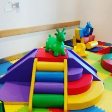 SMALL purple playground set