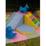 SMALL pink playground set
