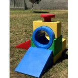 SMALL playground tunnel set