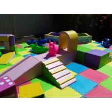 LARGE unicorn playground set