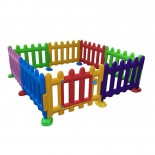 Safety Play FENCE PANELS - Multi COLOUR