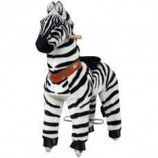 SMALL zebra ponycycle