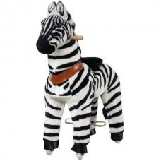 MEDIUM zebra ponycycle