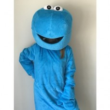 SESAME STREET cookie monster mascot