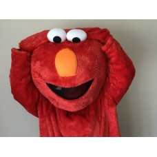 Sesame Street - ELMO - Mascot Costume - HIRE